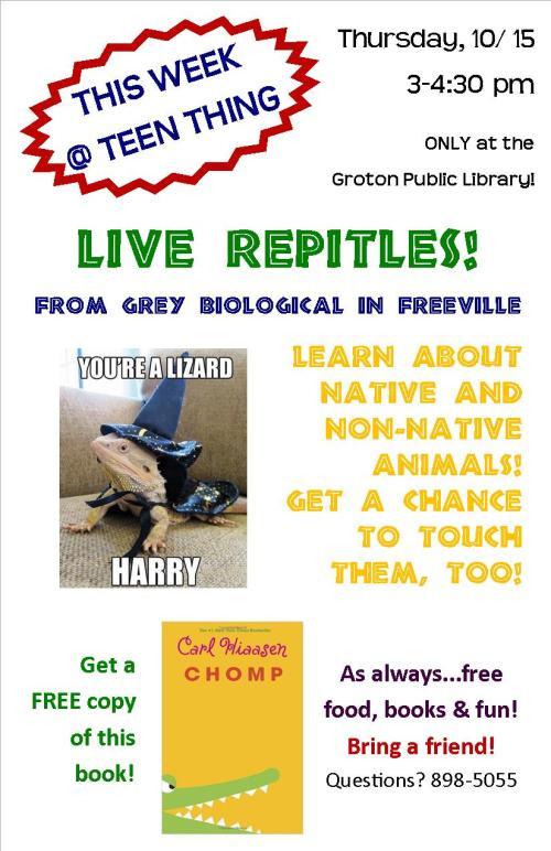 10-15-15  Reptiles