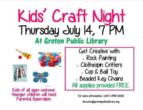 Craft Night 2016