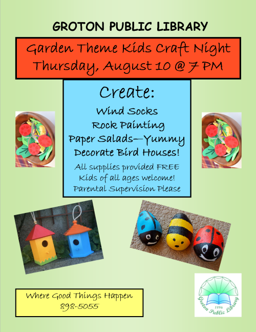 Garden craft night 2017