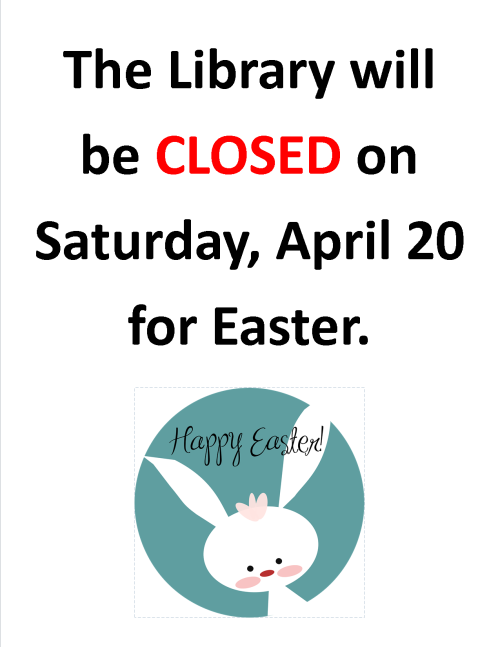 2019-4-Closed for Easter