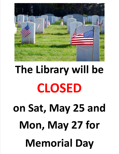 2019-05-27-Memorial Day Closed