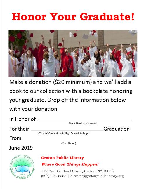 2019-05-Grad Donation