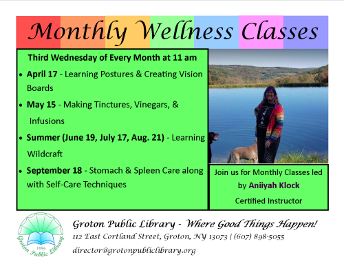 2019-Monthly Wellness Classes 2