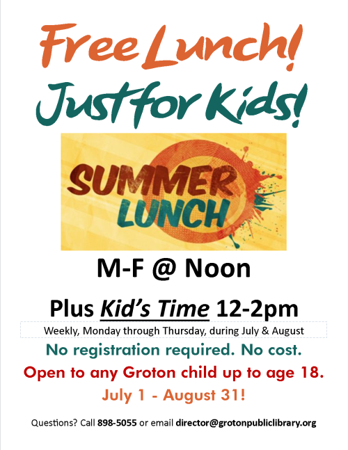 2019-Free Summer Lunch