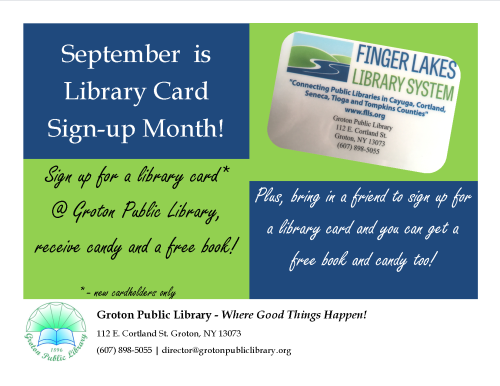 2019-09-Library Card Month