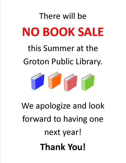 No Book Sale