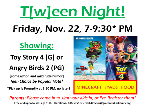 2019-11-22-Tween Night