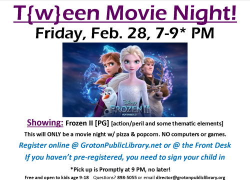 2020-2-28-Tween Night
